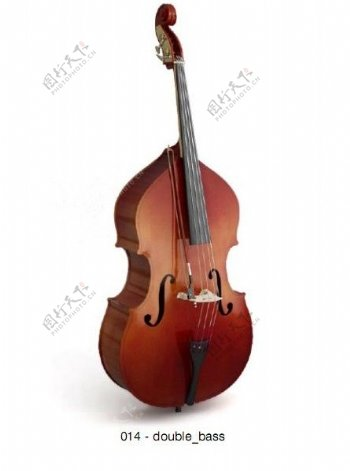 大提琴模型