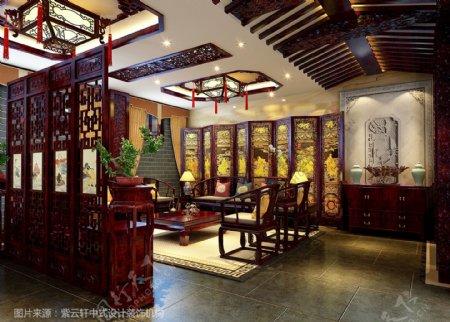 紫云轩中式设计图库