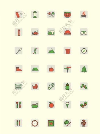 日常icons图标
