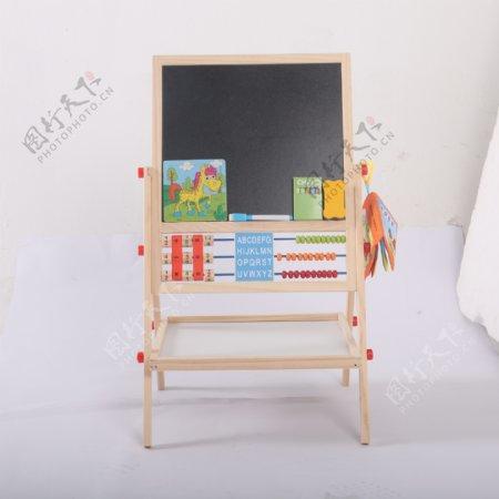 支架式儿童画画板磁性小黑板6