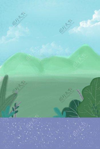 小清新的草木风景图