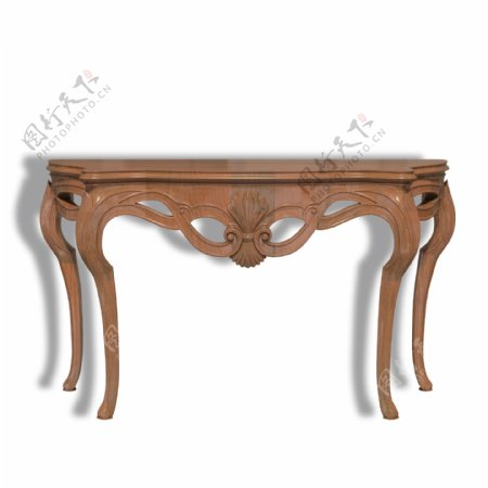 欧式家具实木的欧式墙桌