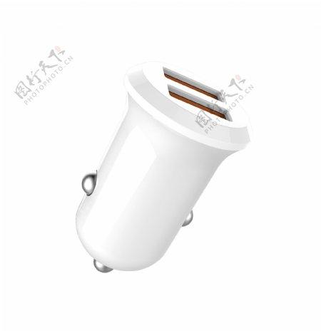 小磨菇双USB车充