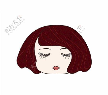 短发女娃头