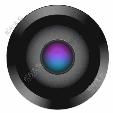 精致照相机摄像头图标GIF