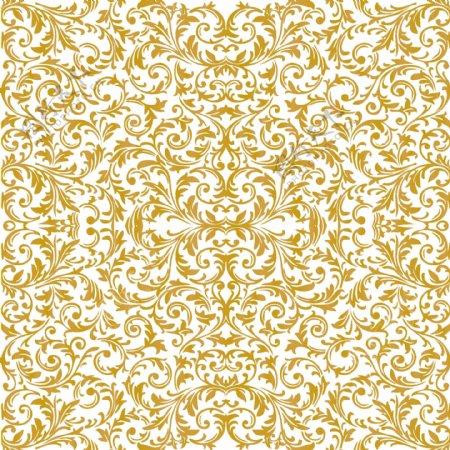 手绘古典欧式风格矢量花纹底纹纹理装饰元素