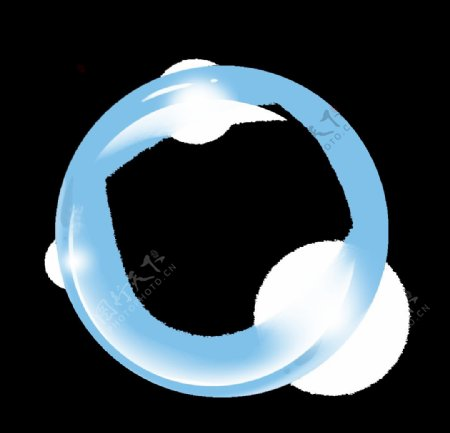 气泡高清PNG透明底