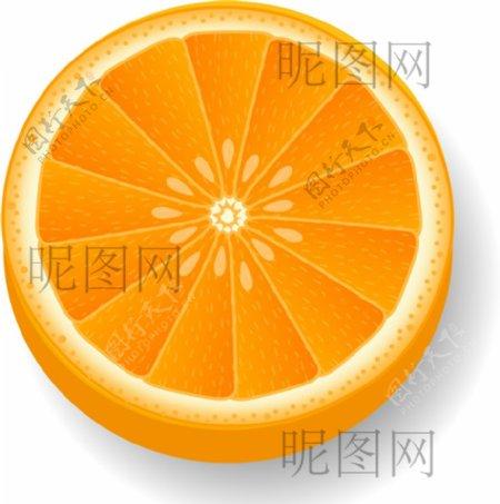 橘子UI素材标识