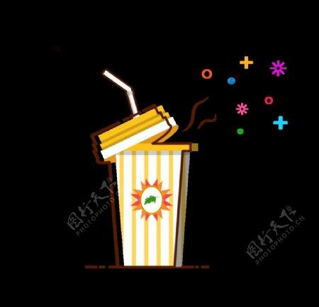 MBE素材饮料图标