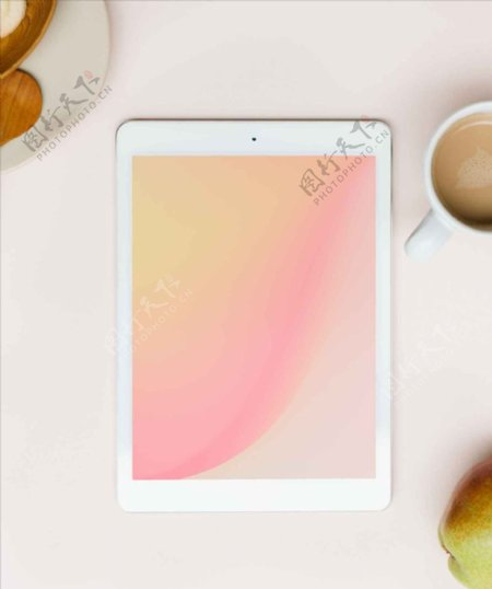 iPad样机效果图
