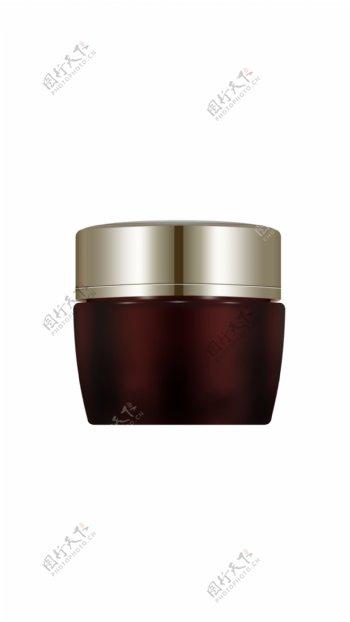 化妆品玻璃罐子样机