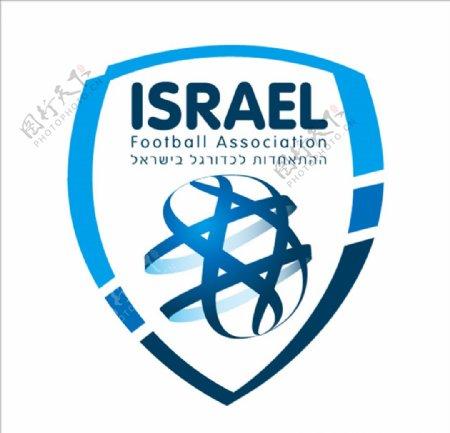 以色列国家足球队队徽logo
