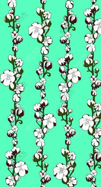抽象木棉花