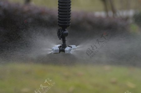 农业灌溉微喷头效果图