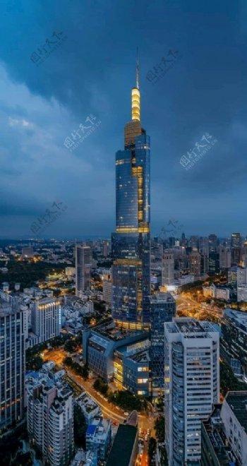 繁花的城市风景