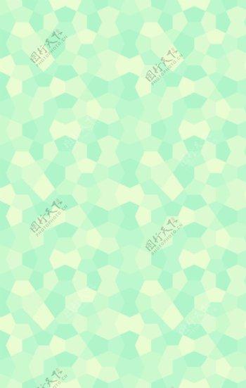 浅蓝色多边形小清新背景