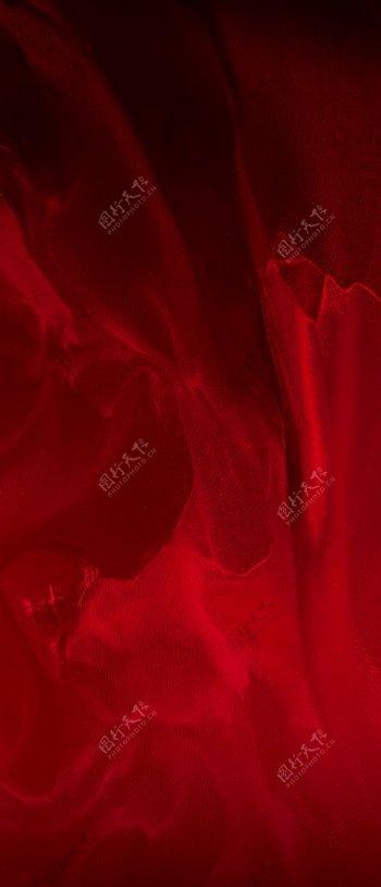 红底地产质感背景肌理