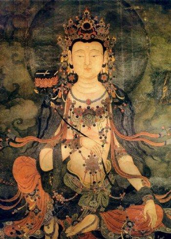 法海寺壁画普贤菩萨