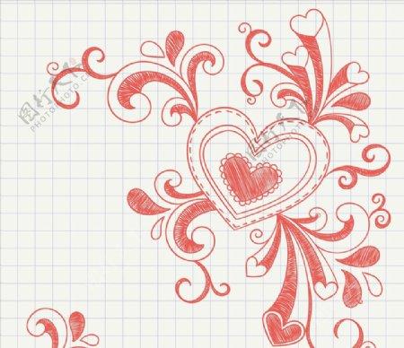 漩涡绘制心脏