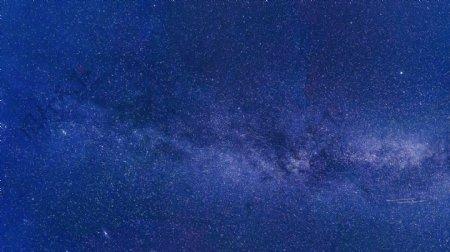 蓝色星空图