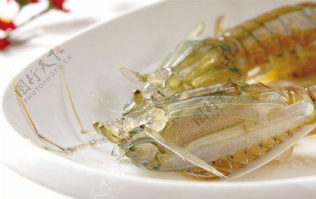 椒盐琵琶虾