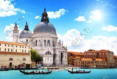 威尼斯小镇欧式建筑欧式风格