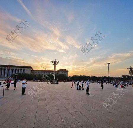 天安门广场图片