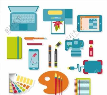 平面设计物品图片