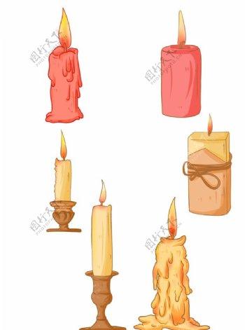 燃烧的蜡烛图片