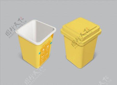 垃圾桶分层效果玩具小垃圾桶图片