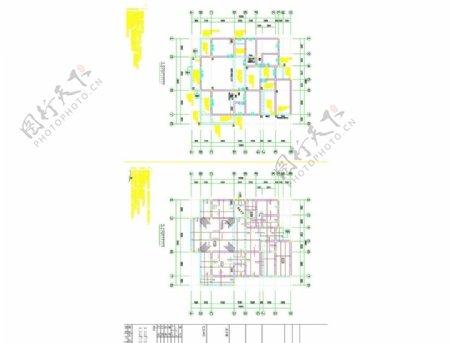 欧式别墅结构施工图图片