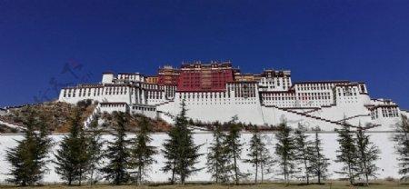 西藏布达拉宫图片