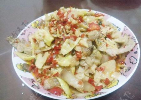 竹笋炒肉图片