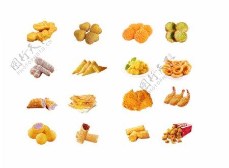 炸鸡汉堡小吃美食肯德基图片