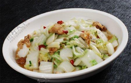 油渣大白菜图片