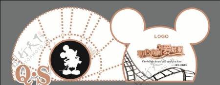 米老鼠风格背景图片