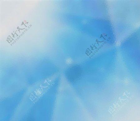 天蓝几何设计图片