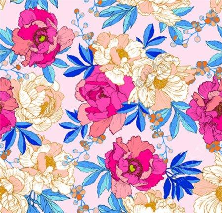 手绘花卉花热带花线条花图片