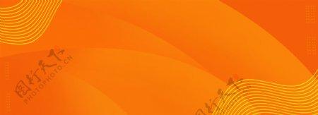 抽象最小橙色背景带半色调的简单图片