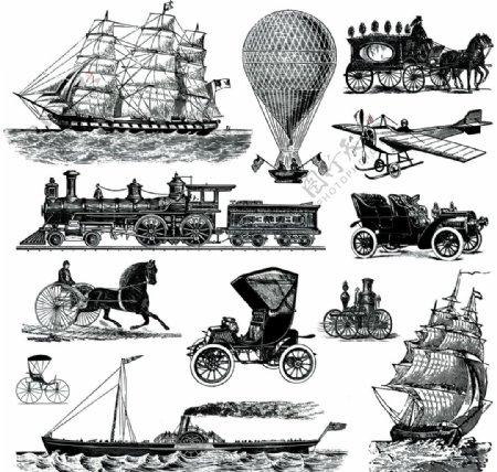 航海帆船图片