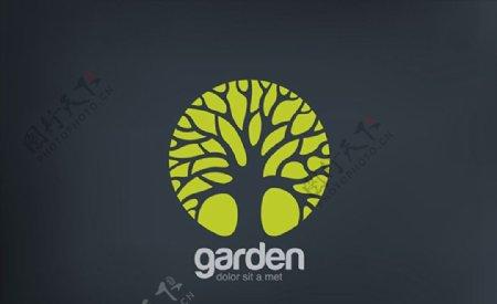 大树标志设计图片