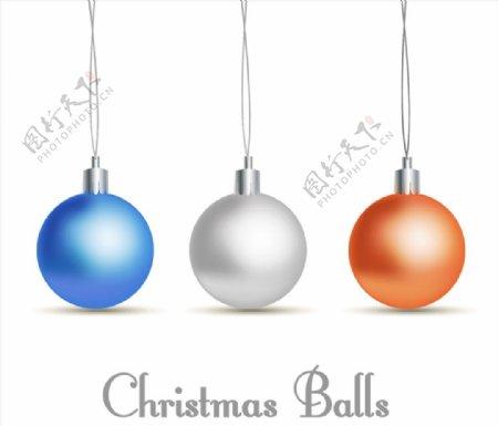 精致圣诞吊球图片