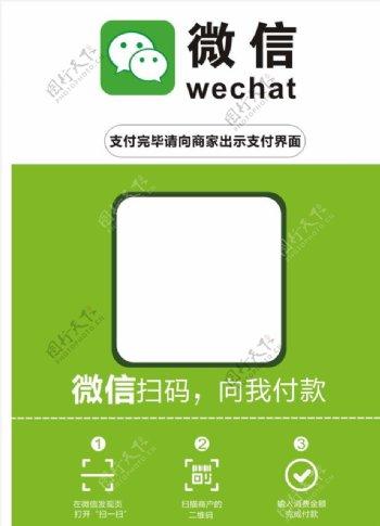 微信二维码支付广告图片