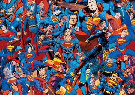 超人合集图片