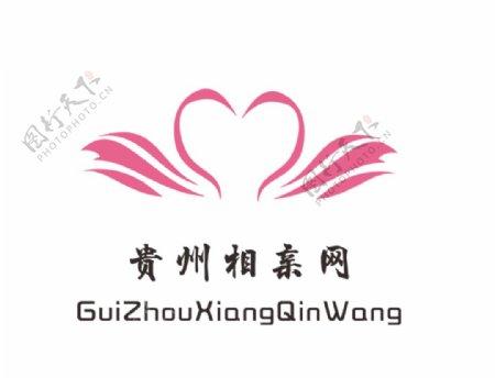 相亲网站喜庆甜蜜logo图片