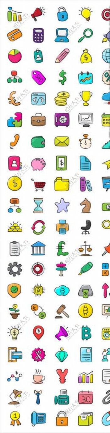 货币简约icon图片