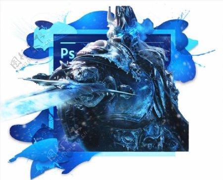 魔兽世界巫妖王PS启动界面图片