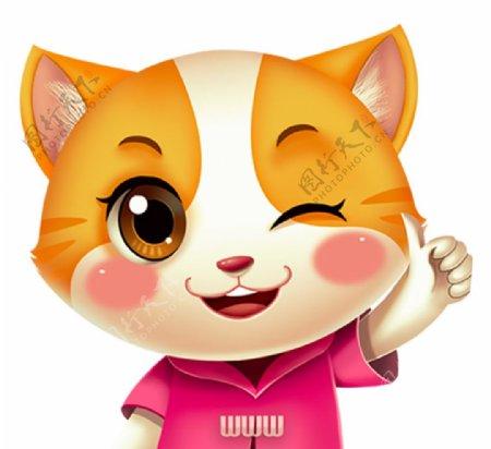 小狸猫PS图片