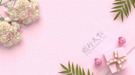 粉色背景banner淘宝图片