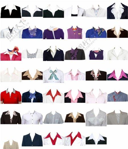 证件照41款女士正装素材图片